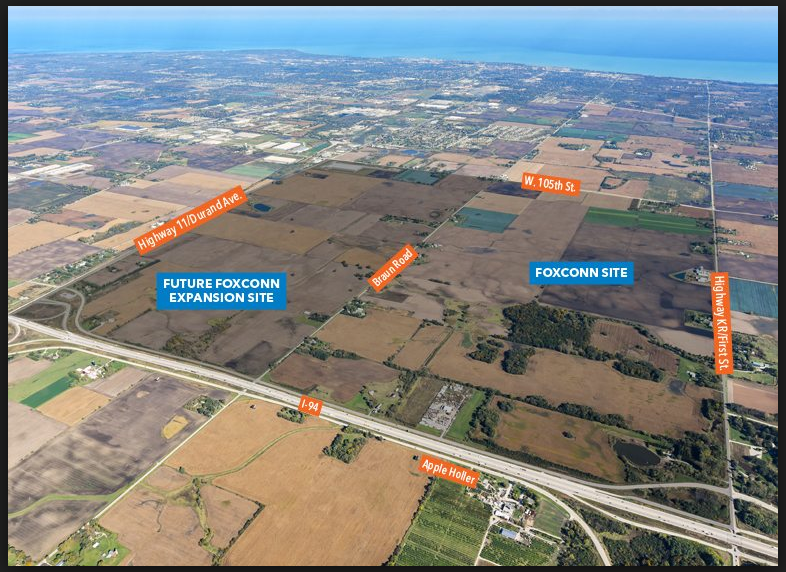 JPS awarded Braun Road Project to widen road for Foxconn Site