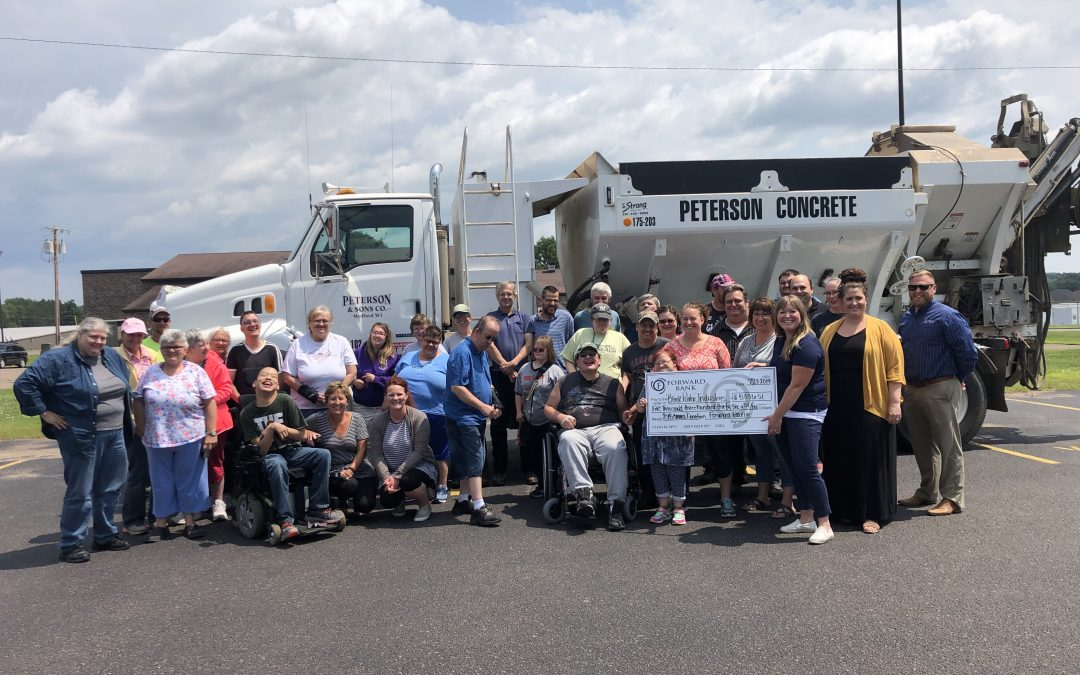 Peterson Concrete Pours Money Into The Community
