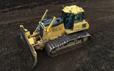 JPS and Komatsu D65 200 Acre Site Development