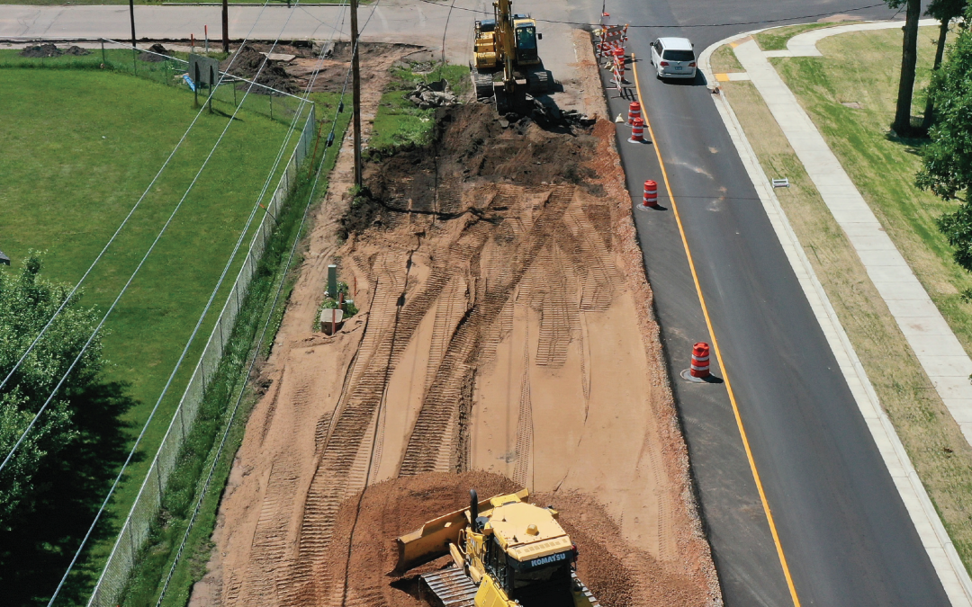 JPS was featured in the Western Builder for their work on Hwy 47 in Keshena, WI.